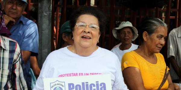 Vilma Núñez de Escorcia: Reciba nuestra solidaridad.