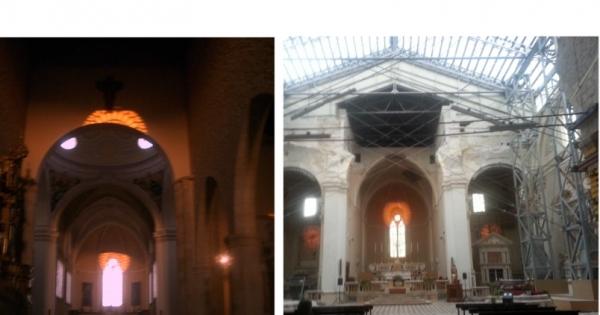 su-aq@beniculturali.it  ministro.segreteria@beniculturali.it: Salvare il gioco solare dell'Assunta nel restauro di Collemaggio-L'Aquila