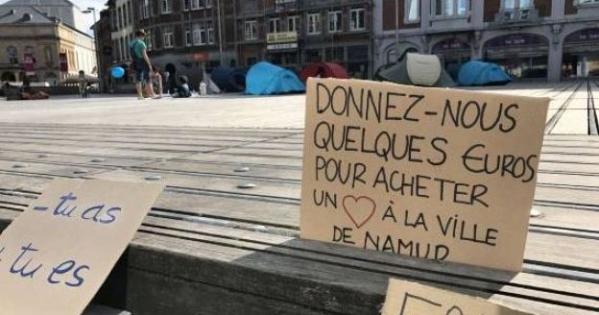 Mr Maxime Prevot Bourgmestre de la ville de Namur et son collège communal: Annulation du règlement anti-mendicité de la ville de Namur