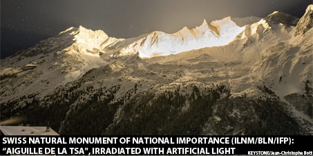 COMUNICATO STAMPA - La petizione contro gli spettacoli luminosi nelle Alpi è giunta al termine con successo