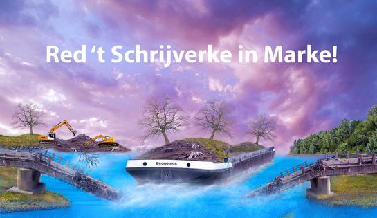 Red 't Schrijverke in Marke!