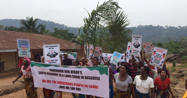 Stop Cross River Superhighway destroying Nigeria's rainforest!
