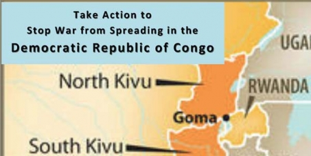 Stop War from Spreading in Goma!