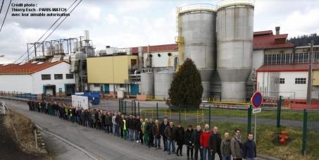 Mr Jussi Pesonen, PDG d'UPM, et ses collaborateurs: Donnez une chance aux salariés de la plus vieille papeterie de France !