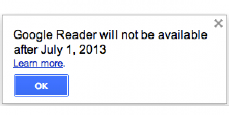 Google, Don't Shut Down Google Reader, Please