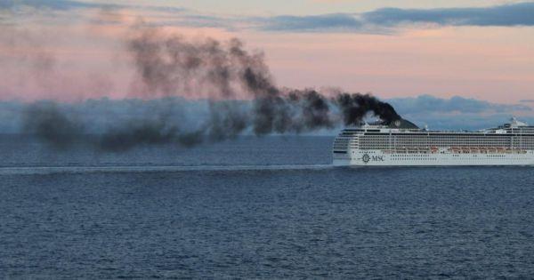 Geen vervuilende cruiseschepen in de Lage Emissie Zone!