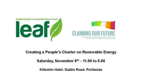 We want Public Participation in Irelands Renewable Energy Plans