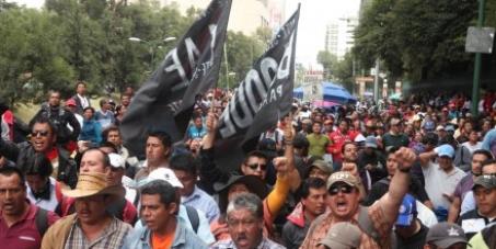 #FueraCNTE RETIRO INMEDIATO DE LA #CNTE DE LA CIUDAD DE MÉXICO