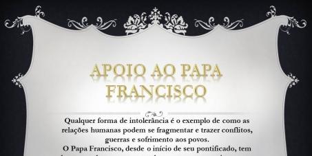 Ao Cardeal Pietro Parolin - Secretário de Estado - Vaticano : Apoio ao Papa, ao seu esforço em favor da paz e do diálogo entre os povos!
