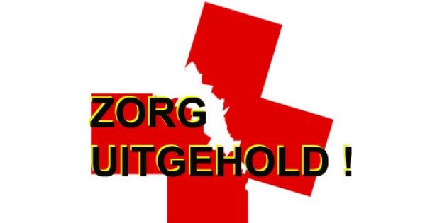 Minister van Volksgezondheid: Zorgen dat de ZORG aan huis en bed met AANDACHT overeind blijft!