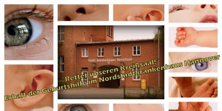 Regionspräsident Hauke Jagau und alle Regionsversammlungsabgeordneten: Wir fordern den Erhalt der Entbindungsstation im Nordstadtkrankenhaus
