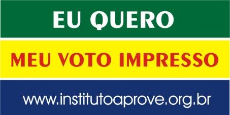 Presidência da República, Senado Federal e Congresso Nacional: Criação de um sistema obrigatório de impressão do voto.