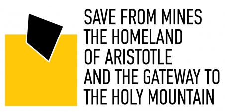 Save from mines the Homeland of Aristotle and the Gateway to the Holy Mountain Greece