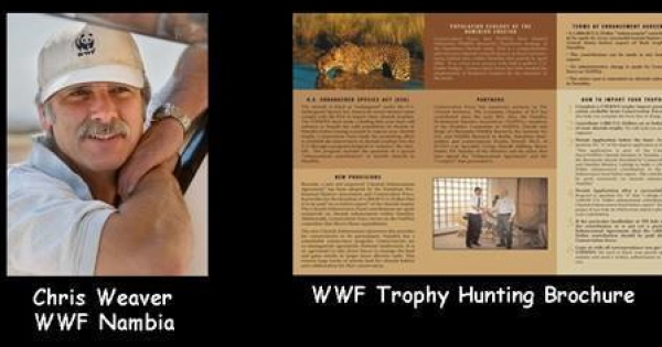 Yolanda Kakabadse WWF: End YOUR Trophy Hunting Safaris in Partnership with USA TH Dallas Safari Club