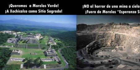Fuera Minera de Xochicalco, Morelos. Patrimonio de la Humanidad.