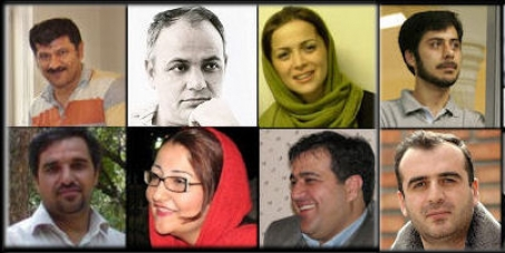 Free Iranian journalists and political prisoners, stop the persecution of independent press in Iran