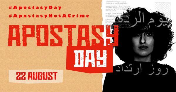 August 22: Apostasy Day