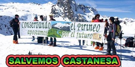 Evitemos la aprobación definitiva de la ampliación de la estación de esquí de Cerler por Castanesa (Aragón, España).