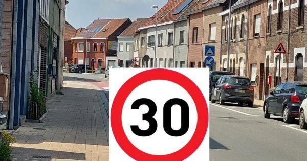 Een veilige Merelbekestraat en schoolomgeving in Melle Vogelhoek