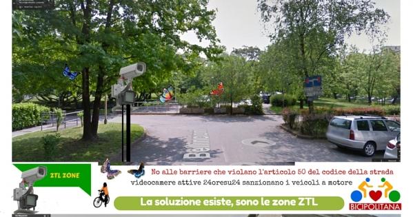 Al Sindaco Andrea Checchi, Assessore Serenella Natella: Eliminazione barriere architettoniche che impediscono passaggio biciclette