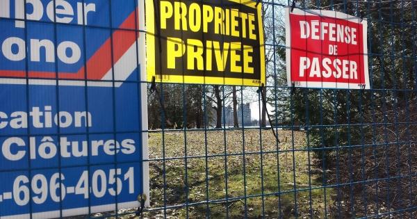Montréal: l'ancien fort Lorette doit être un site patrimonial public !
