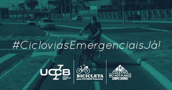 #CicloviasEmergenciaisJá em Campo Grande|MS