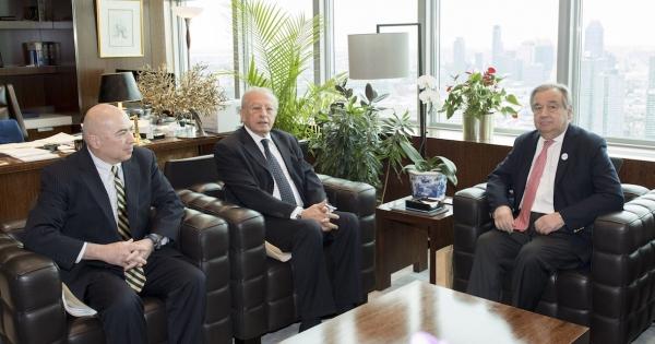 Pension Fund CEO Sergio Arvizu, and UN Secretary-General Antonio Guterres: Recognize the votes of staff in April's Pension Fund elections
