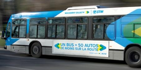 STM - Société de transport de Montréal: Le prolongement de la ligne d'autobus 55 (St-Laurent) dans Ahuntsic.