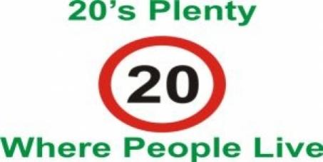 20 is plenty on Wickham Road