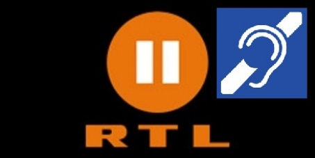 RTL2 barrierefrei mit Untertitelung für Gehörlose!