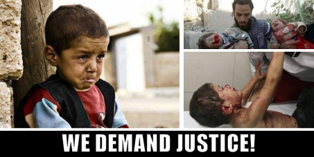 We demand that Intl. Criminal Court & UN charge Benjamin Netanyahu & Israel for War Crimes against Humanity