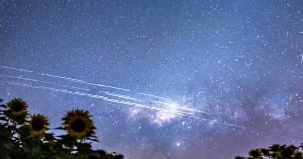 Losing the night sky due to tens of thousands of satellites