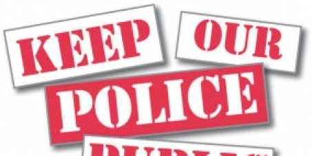 Human Rights first! Stop the privatisation of policing services in the West Midlands and Surrey