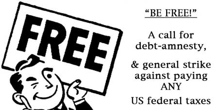 national debt amnesty or general tax strike