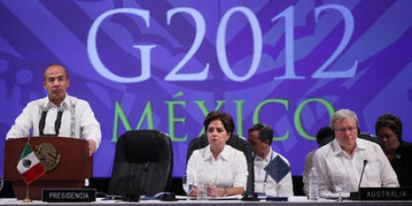 G20 Support of Financial Transaction Tax