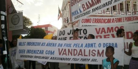 Governador da Bahia indenize os agricultores familiares da área do Porto Sul pela norma ABNT