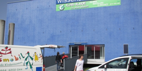 Rettet die wissens.wert.welt - blue cube & kidsmobil