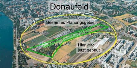 Petition zur Bebauung des Donaufeldes