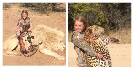 Facebook CEO - Mark Zuckerberg: Remove the page of Kendall Jones that promotes animal cruelty!