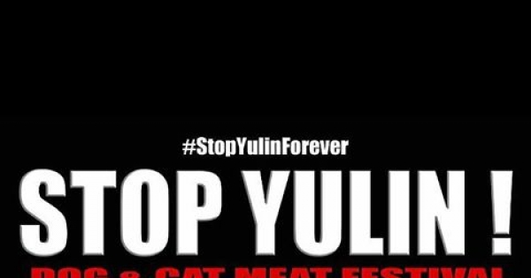YULIN GOVERNOR .MR CHEN WU.AND AMBASADOR CUI TIANKAI.: HELL ON EARTH FOR THE ANIMALS .YULIN GOVERE