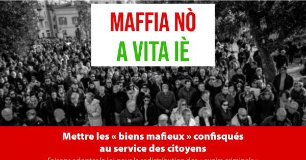"""Les """"biens mafieux"""" rendus aux citoyens"""