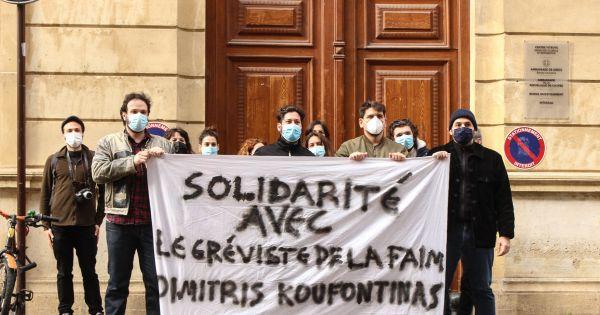 Solidarité avec le gréviste de la faim Dimitris Koufontinas [GR,FR]