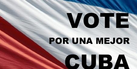 DERECHO AL VOTO PARA CUBANOS QUE VIVEN EN EL EXTRANJERO