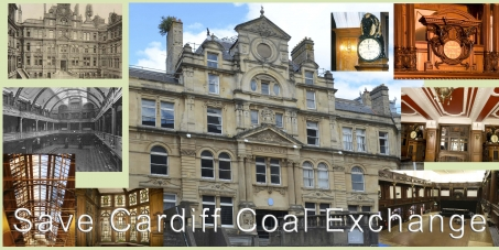 John Griffiths AM - Minister for Culture and Sport.: Save Cardiff Coal Exchange from substantial demolition