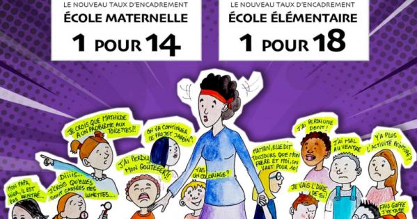 NON aux nouveaux taux d'encadrement dans les écoles de Toulouse