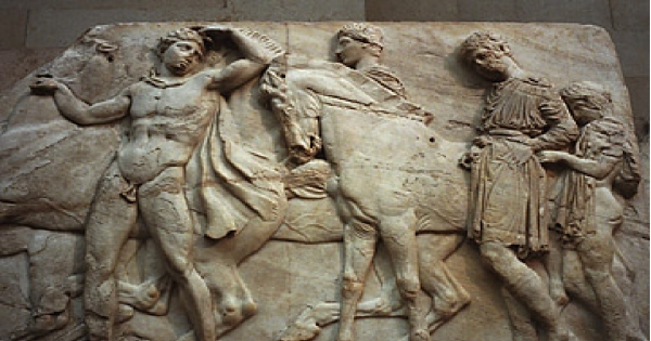 We are asking the Minister of Culture and the Trustees of the British Museum to Return the Elgin Marbles to Greece
