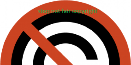 Stop unfair copyright
