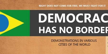 Democracia não tem fronteiras - Bélgica