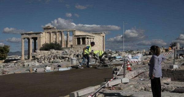 Όχι στην καταστροφή της Ακρόπολης