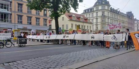 Multikultiviertel Dresdner Neustadt droht Zerstörung durch Stadtautobahn! Helfen Sie uns, dieses Unheil abzuwenden!